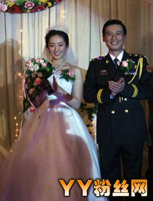 (林晓晓和现实老公徐洪浩的结婚照)图片